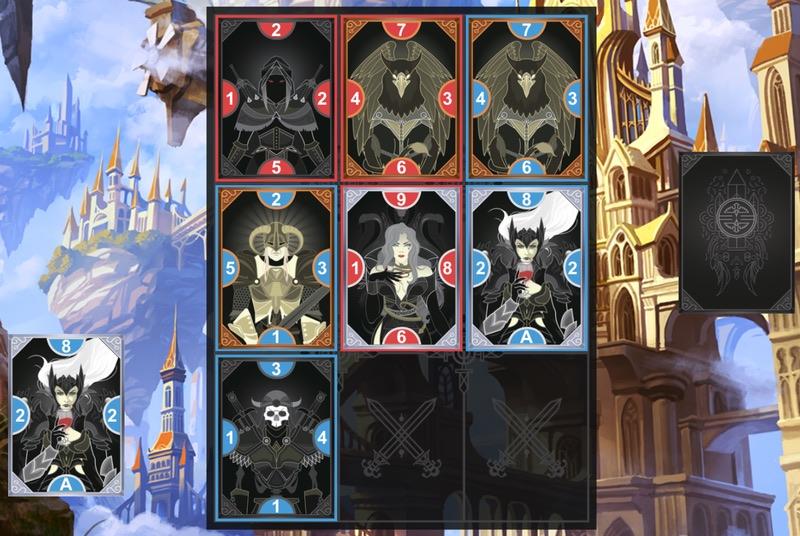 Eminence game board